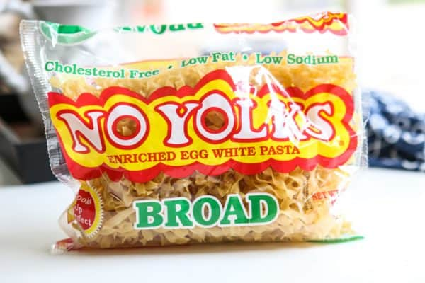 no yolks broad noodles