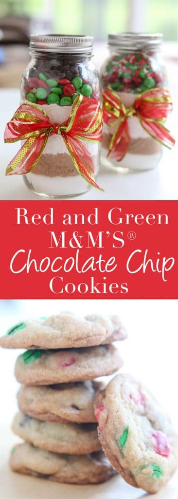 {Gift Idea} M&M® Sprinkle & Chocolate Chip Cookie Jar Mix - 2 Recipes!
