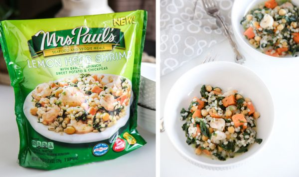 Mrs. Paul's® Seafood & Veggie Meals @EclecticEveryday