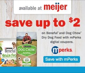 Save up to $2 on Purina at Meijer @EclecticEveryday