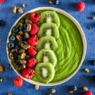 Green Goddess Smoothie Bowls @EclecticEveryday