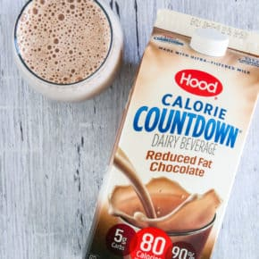 Chocolate Banana Protein Smoothies with Hood Calorie Countdown @EclecticEveryday
