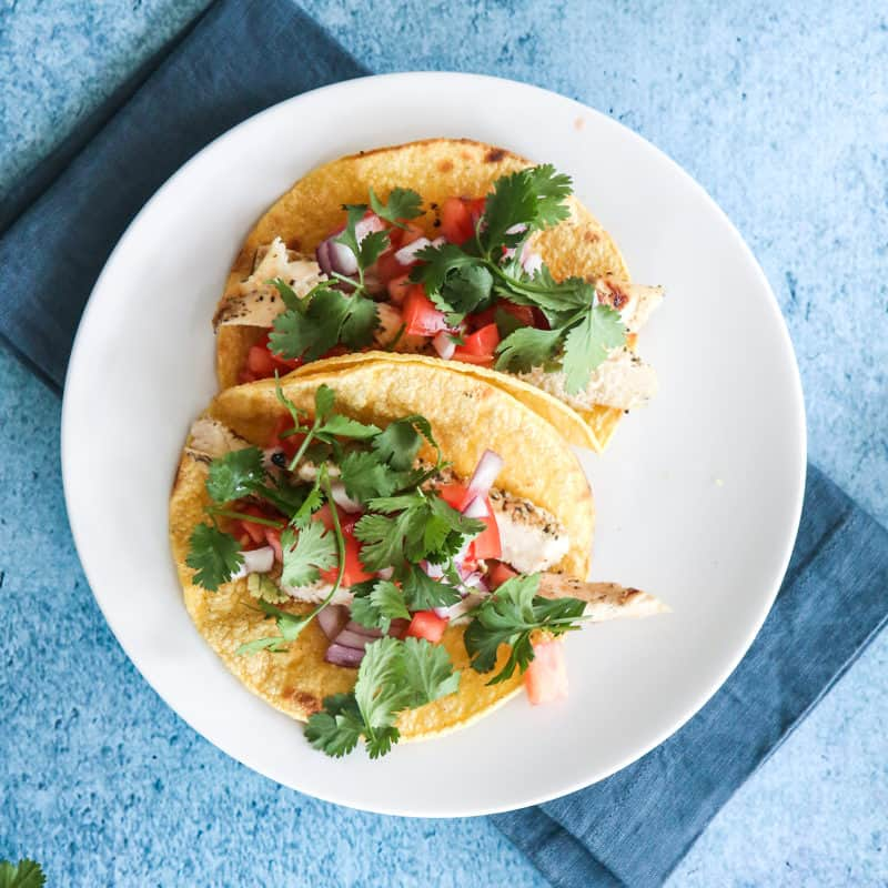 Grilled Chicken Tacos @EclecticEveryday
