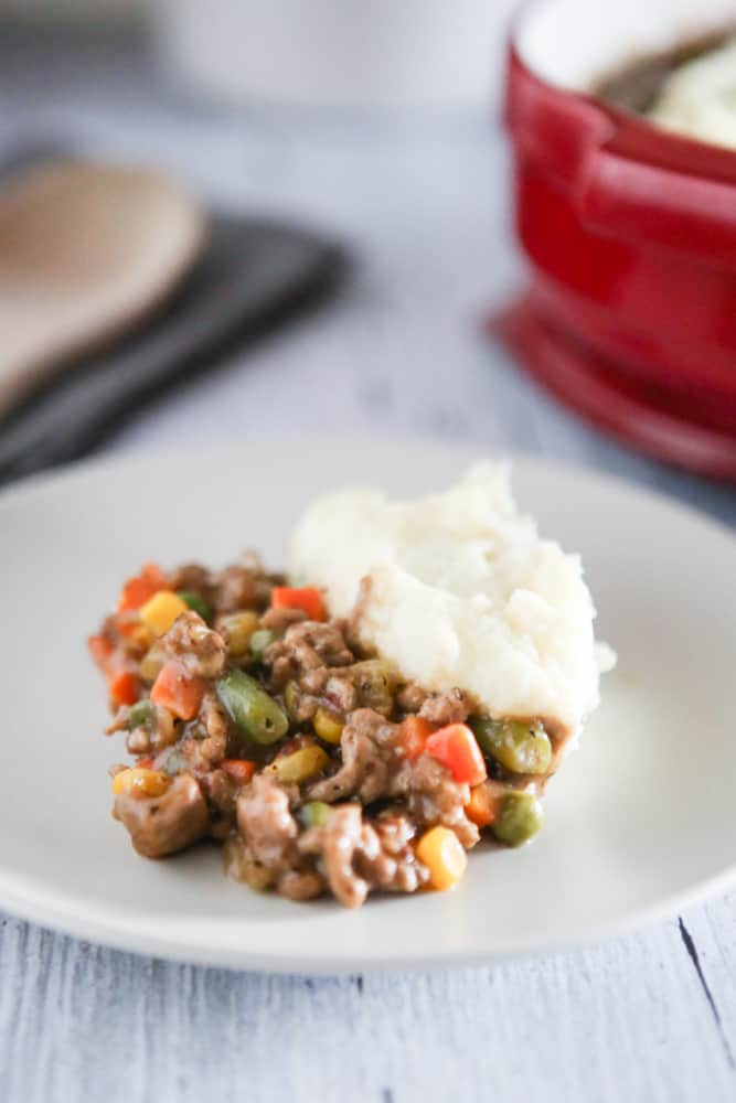 My Favorite Pregnancy Dinner: Veggie Filled Shepherds Pie with Cauliflower Mash @EclecticEveryday