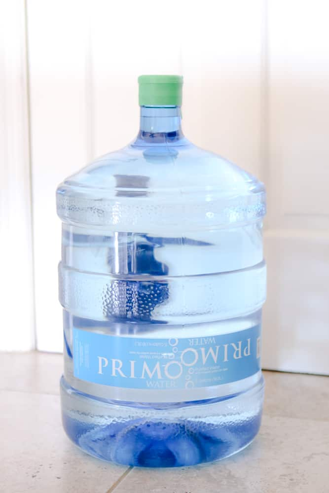 primo 5 gallon water jug