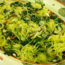 Spaghetti Squash Pasta @EclecticEveryday