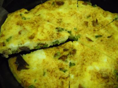 Asparagus and Ham Frittata Recipe