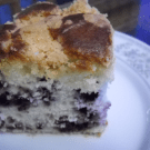 Blueberry Lemon Buckle @EclecticEveryday