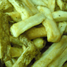 Homemade French Fries @EclecticEveryday