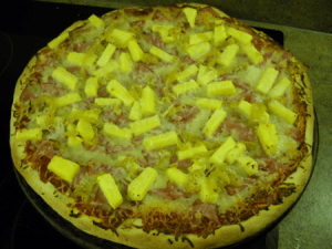ham pineapple banana pepper