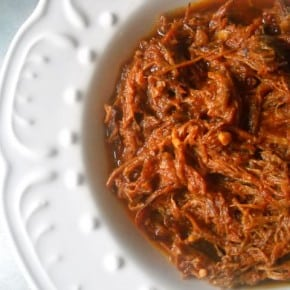 Slow Roasted and Simmered Pulled Pork