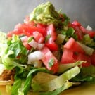 Taco Salad @EclecticEveryday