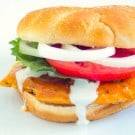 Buffalo Chicken Sandwich @EclecticEveryday