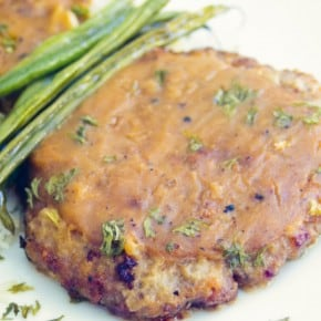 Country Fried Steak with Brown Gravy