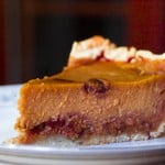 Roasted Pumpkin Pie @EclecticEveryday