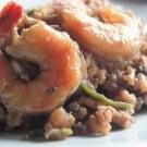 Red Wine Mushroom Risotto