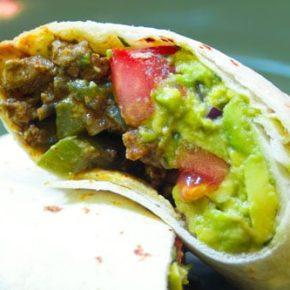 Top Sirloin Carne Asada Burrito