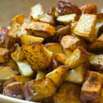 Herb Roasted Red Potatoes @EclecticEveryday