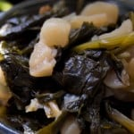 Southern Turnip Greens Recipe @EclecticEveryday
