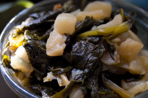 Southern Turnip Greens Recipe 3