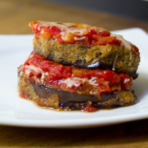Eggplant Parmesan @EclecticEveryday