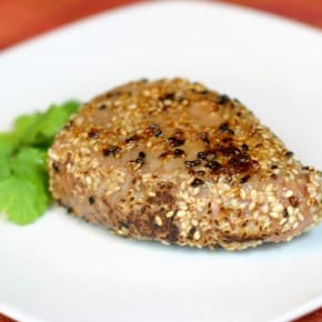 Sesame Seared Ahi Tuna Steak 1