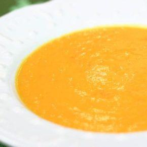 Carrot Ginger Coconut Soup