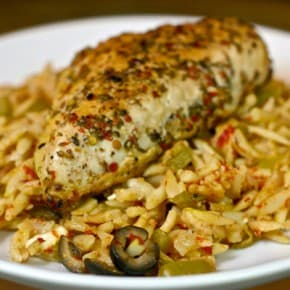 Greek Chicken Orzo