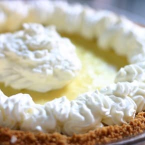 Key Lime Pie close up