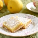 Lemon Bars @EclecticEveryday