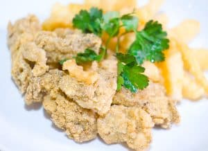 My Dad's Fried Oysters