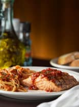 Carrabba's New Smaller Portions Menu Salmon