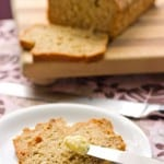 Banana Coconut Bread with Stevia @EclecticEveryday