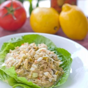 Garden Tuna Salad with Olives