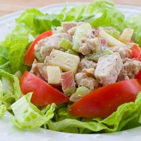 Waldorf Chicken Salad @EclecticEveryday