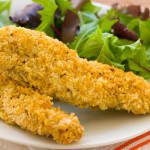 Panko Crusted Italian Chicken