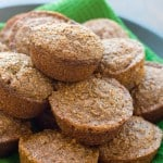 Bran Muffins @EclecticEveryday