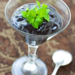 Easy Dark Chocolate Pudding 2