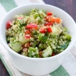 Greek Quinoa Salad @EclecticEveryday