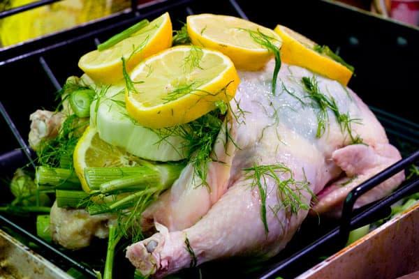 raw lemon chicken