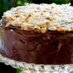 German Chocolate Cake @EclecticEveryday