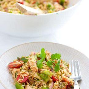 Paella Rice Salad