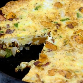 Tortilla Espanola: Spanish Omelette with Sweet Potatoes 2