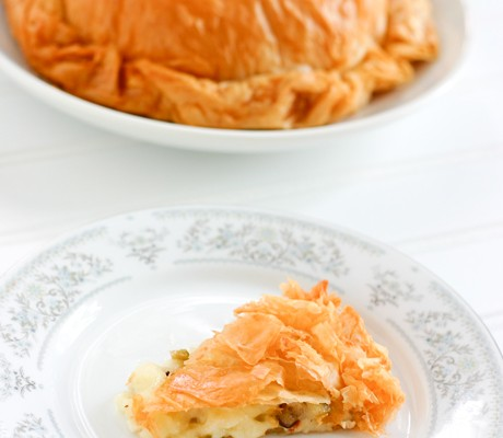 Olive Stuffed Baked Brie Recipe