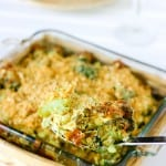 Fresh Broccoli Casserole @EclecticEveryday