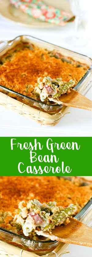 A Fresh Approach to Green Bean Casserole @EclecticEveryday