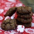 Chocolate Peppermint Cookies @EclecticEveryday
