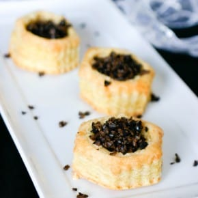 Baked Brie Appetizer with Olives