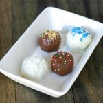 Oreo Chocolate Truffles: 4 Flavor Variations @EclecticEveryday
