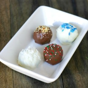 Oreo Chocolate Truffles: 4 Flavor Variations